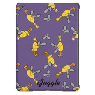 Chickens and Chainsaws Purple iPad Air Cover