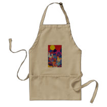 Chickens and Roosters Adult Apron
