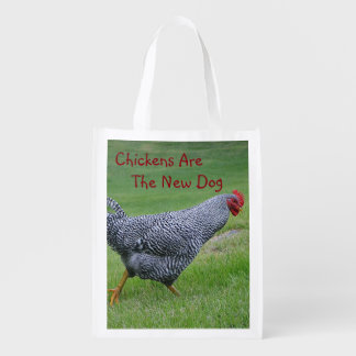 Chickens Are The New Dog Shopping Bag