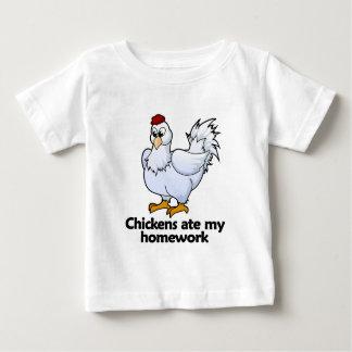 Chickens ate my homework baby T-Shirt