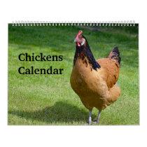 Chickens Calendar