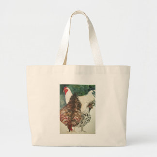 chickens canvas bag