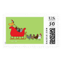 Chickens Christmas Postage