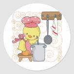 Chickens Cook Sticker