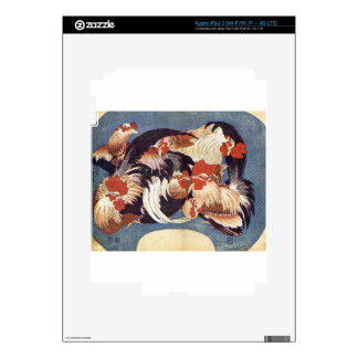 Chickens Decal For iPad 3