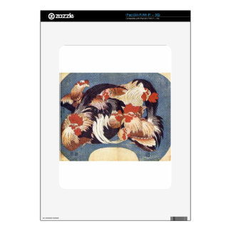 Chickens Decal For The iPad
