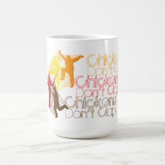 Chickens Don't Clap! Classic White Coffee Mug