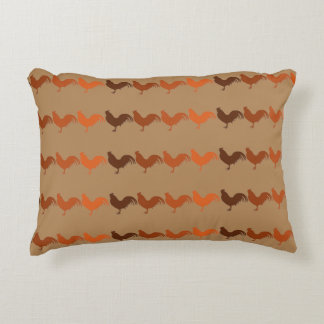Chickens Everywhere Accent Pillow