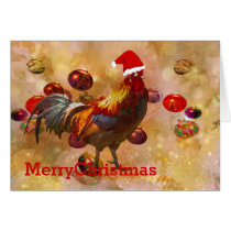Chickens for Christmas Card