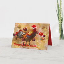 Chickens for Christmas Holiday Card