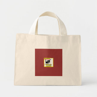 Chickens for every lot mini tote bag