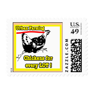 Chickens for every lot stamp