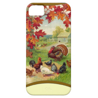 Chickens in the yard iPhone SE/5/5s case