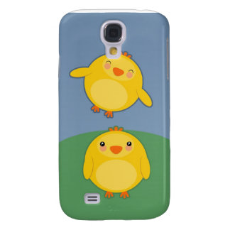 CHICKENS - iphone case Samsung Galaxy S4 Cover