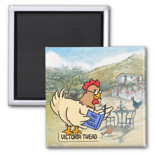 Chickens magnet for fans of Victoria Twead