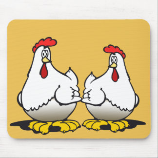 chickens mouse pad