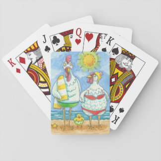CHICKENS OF THE SEA, FUNNY PLAYING CARDS Poker
