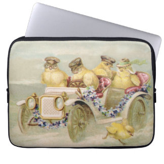 Chickens on the Run Laptop Sleeve