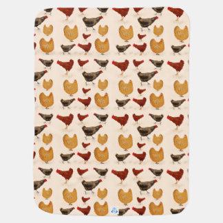 Chickens Receiving Blanket