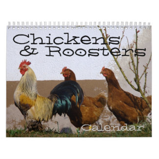Chickens & Roosters Calendar