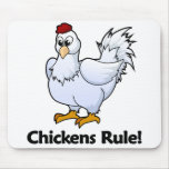 Chickens Rule! Mouse Pad