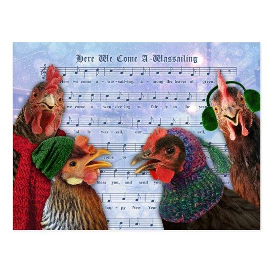 Merry Christmas Chickens_singing_christmas_carols_postcard-r0a7b6a9929864aa69bc30ae7550708ec_vgbaq_8byvr_540