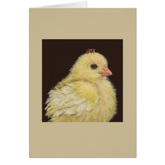 Chickie and lady card