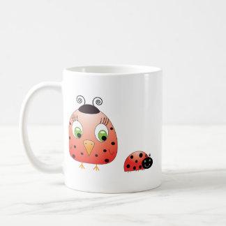 chickie B a Ladybug Mug