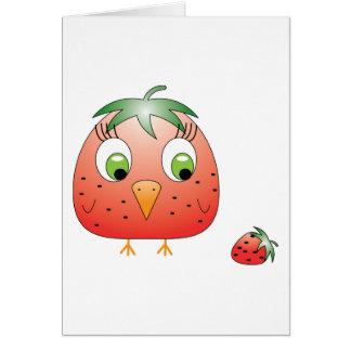 chickie B a Strawberry Card