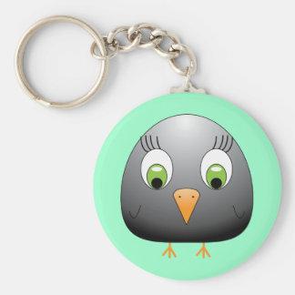 chickie B black Keychain