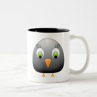 chickie B black Two-Tone Coffee Mug