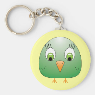 chickie B green Keychain