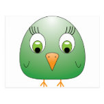 chickie B green Postcard