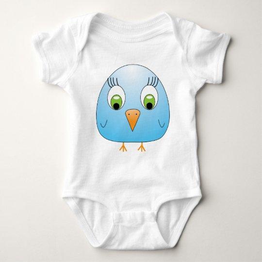 chickie B light blue Baby Bodysuit