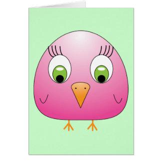 chickie B Pink Card