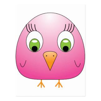 chickie B Pink Postcard