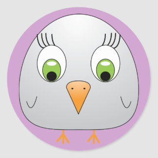 chickie B Sticker