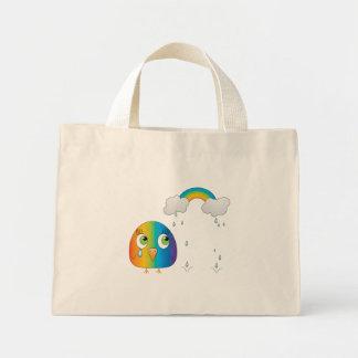 chickie B un bolso del arco iris Bolsa Tela Pequeña