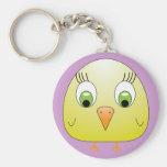 chickie B yellow Keychain