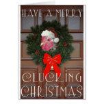 Chickie Boom-Boom Christmas Card