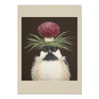 Chickie the chickadee card