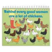 ChickinBoots 2016 Calendar