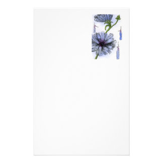 """""""Chickory"""" Floral Stationery"""