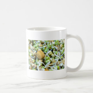 Chickpea and sprouts coffee mug