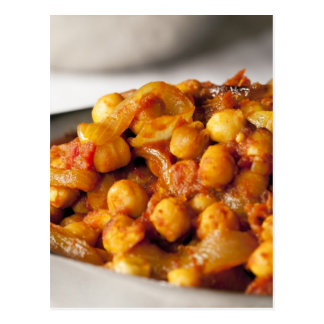 Chickpea Curry Postcard