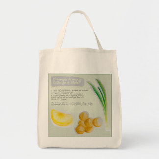 Chickpea Salad Recipe Grocery Tote