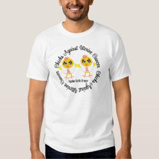 Chicks Against Uterine Cancer T Shirt