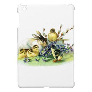Chicks and Bunny iPad Mini Cover