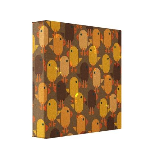 Chicks canvas print