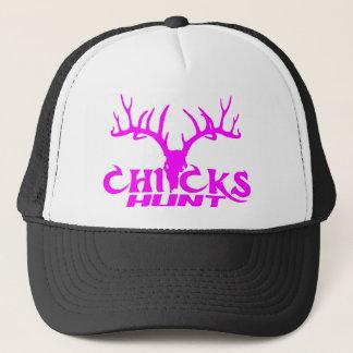 CHICKS DEER HUNT TRUCKER HAT
